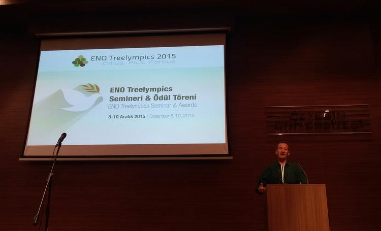 ENO Treelympics, Seminar and Awards, Istanbul, Turkey
