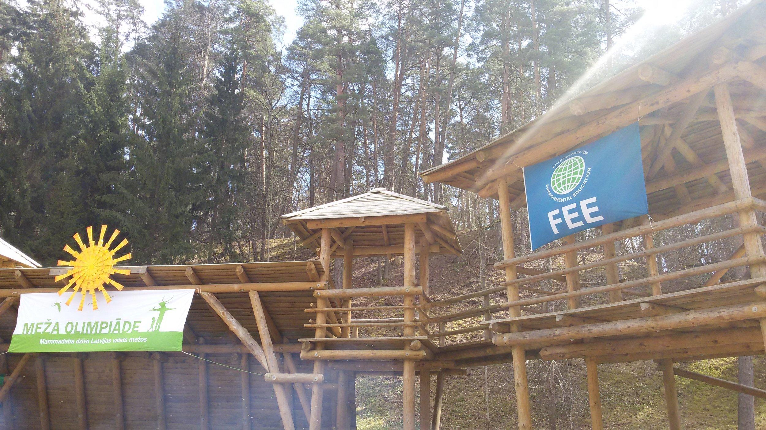 Forest Olympics Latvia 2015
