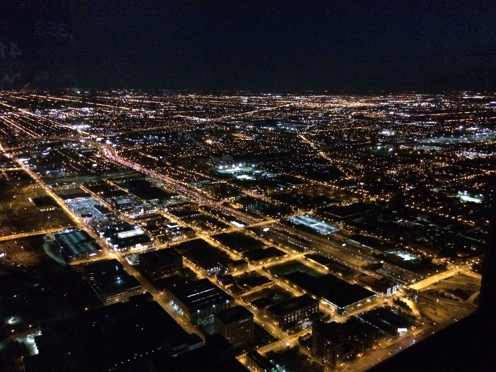 The view from the Willis (aka Sears) Tower.JPG