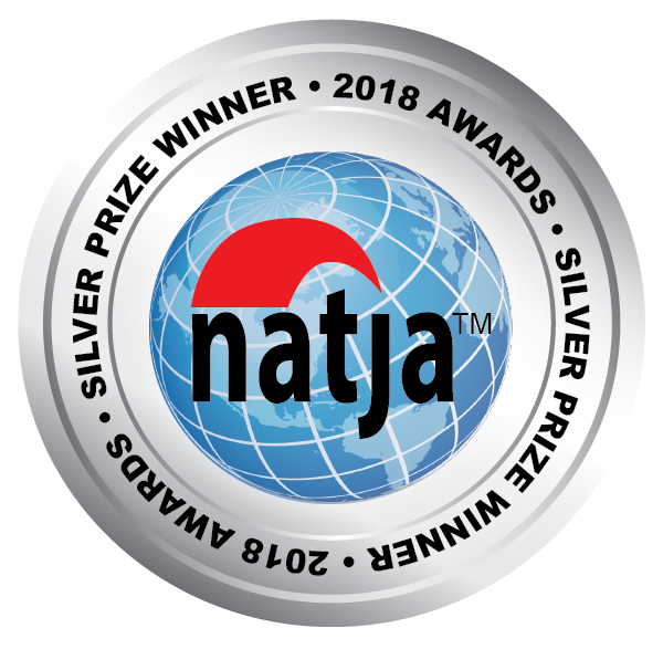 2018 NATJA Awards Silver Seal.png