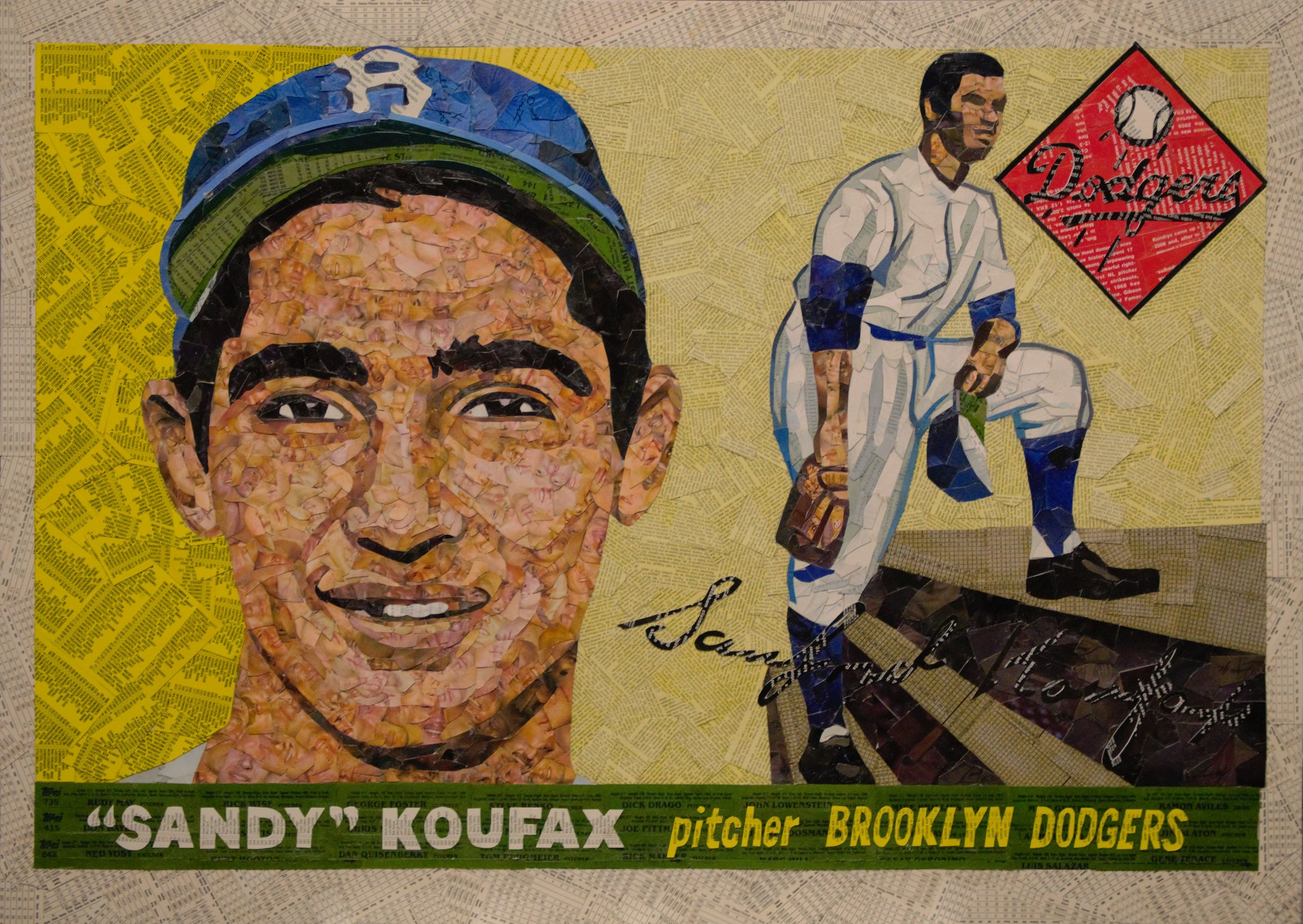 1955 Topps Sandy Koufax RC