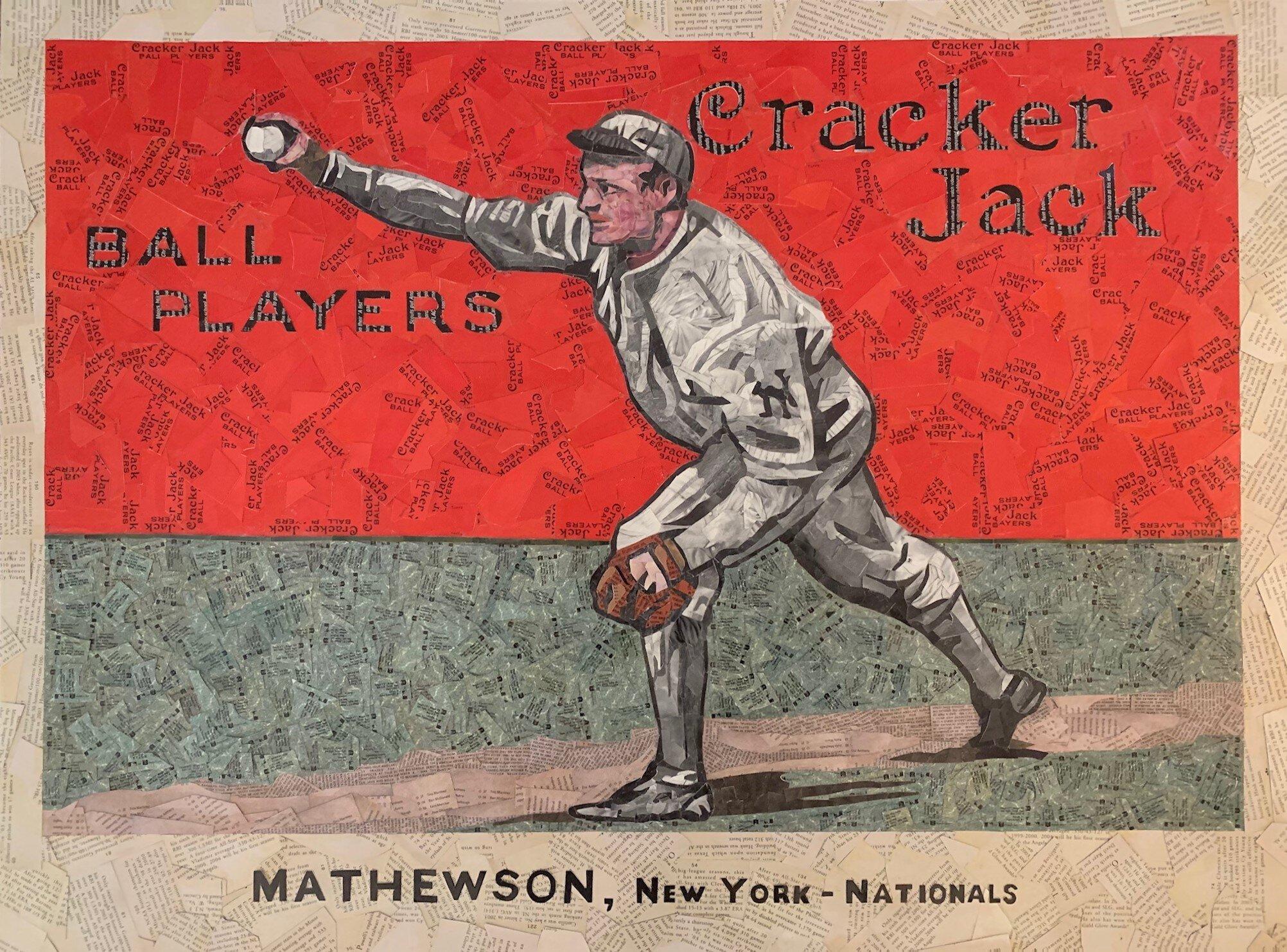 1914 Cracker Jack Christy Mathewson