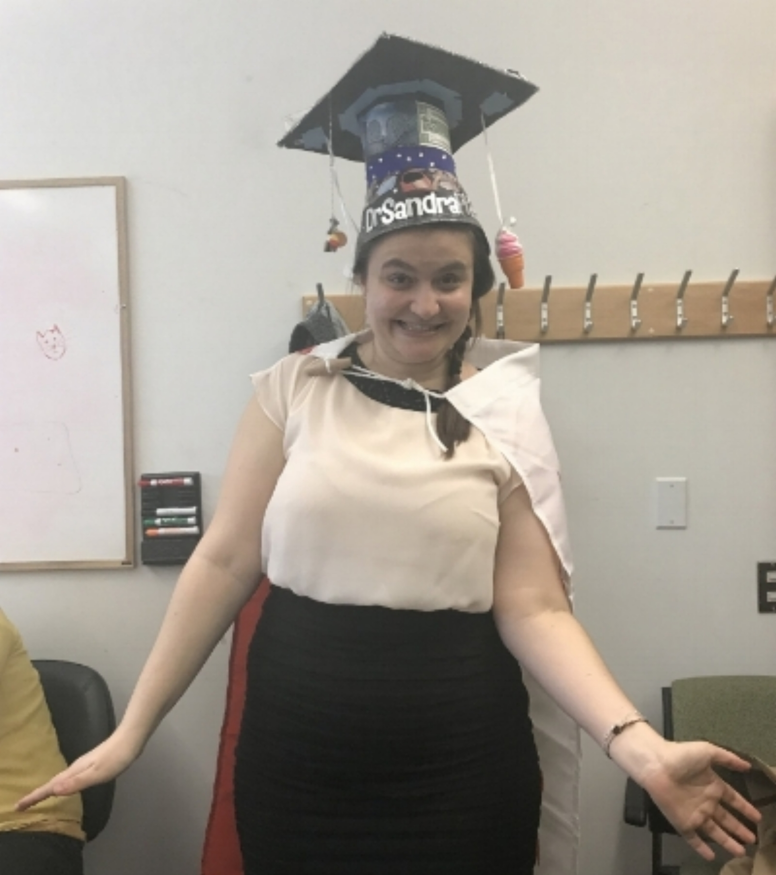 Dr. Sandra! - Sandra is our first PhD student to graduate! And that with excellent performance. Chapeau, Sandra, you really earned it!