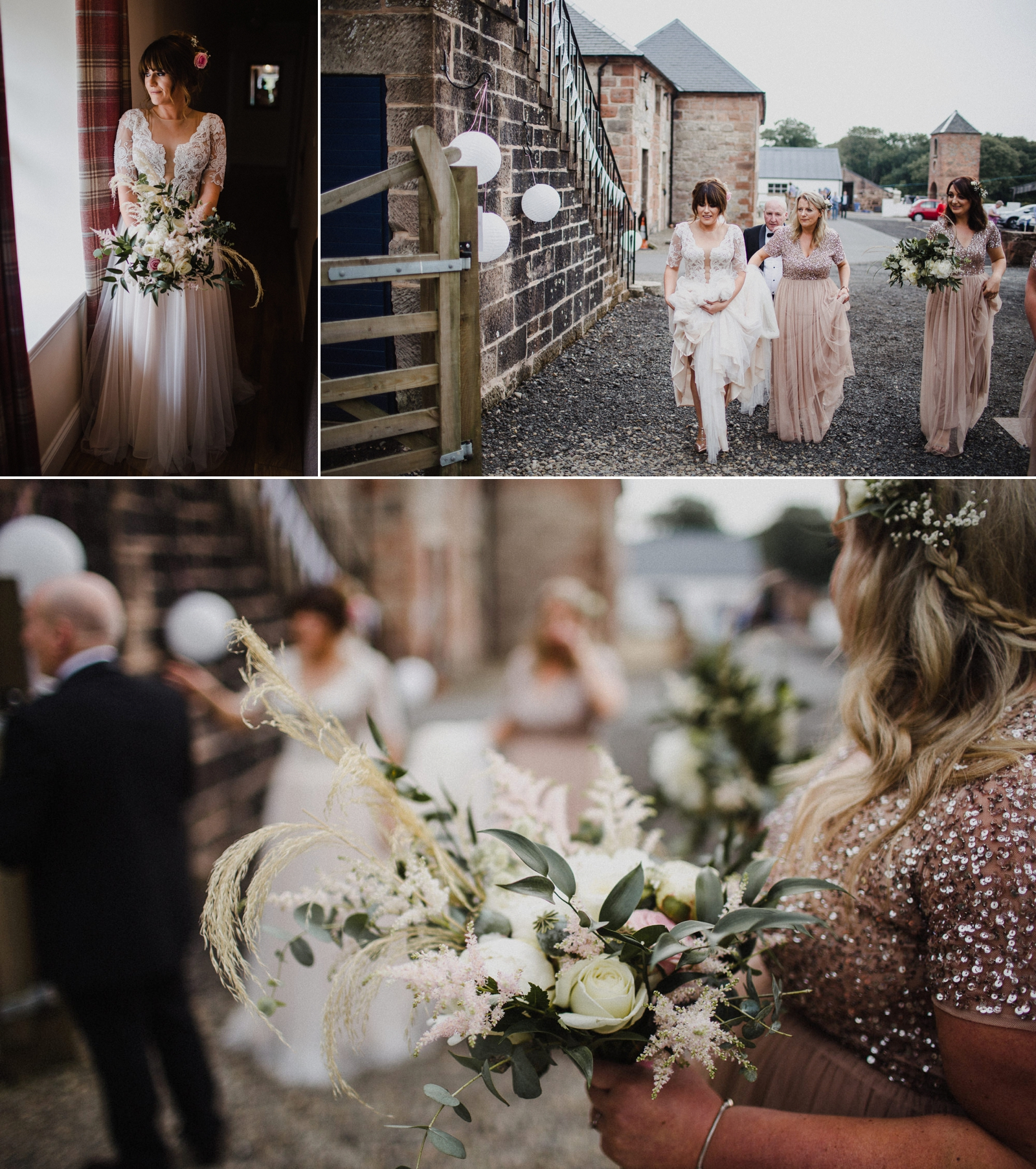 Boswell's Coach House Cumnock - Rustic Romantic wedding-48.jpg