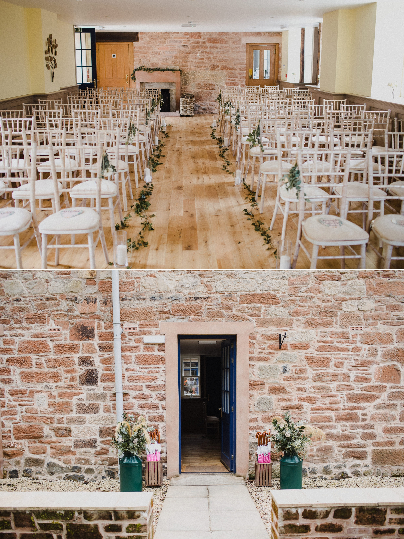 Boswell's Coach House Cumnock - Rustic Romantic wedding-18.jpg