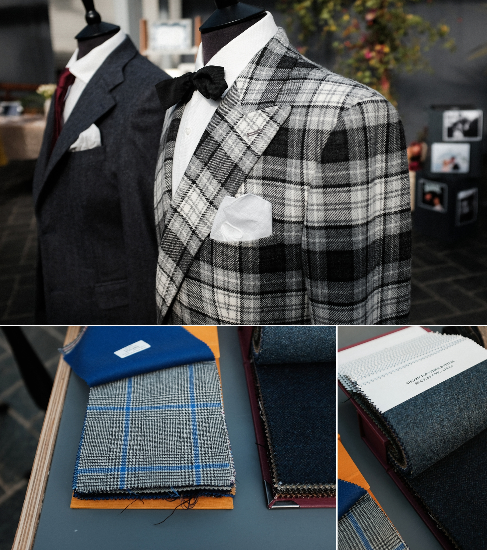Image by  Walnut Wasp  of  Hunter Kingsley 's delicious menswear at our recent Wedding Workshop