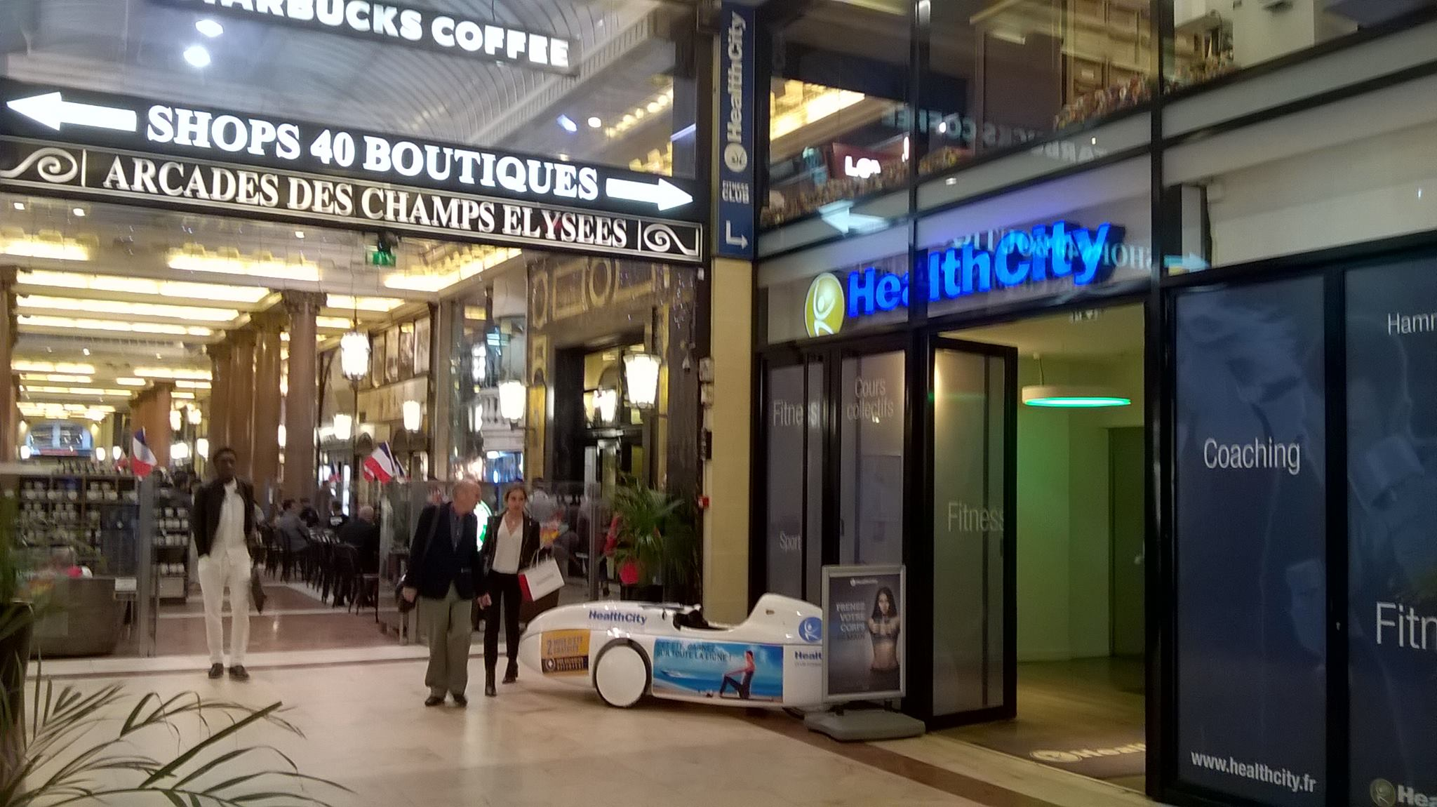 Opération FitCar - Healthcity Les Champs Elysées - 14/06/16