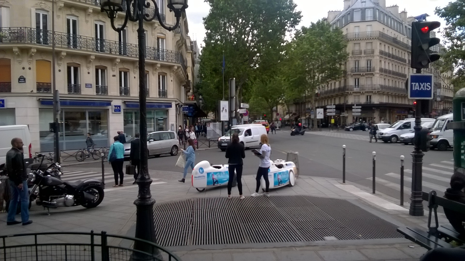 Opération FitCar - Boulevard Saint Germain, Paris 5 le 16/06/16