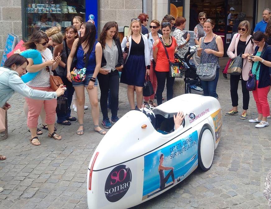 Opération FitCar street marketing