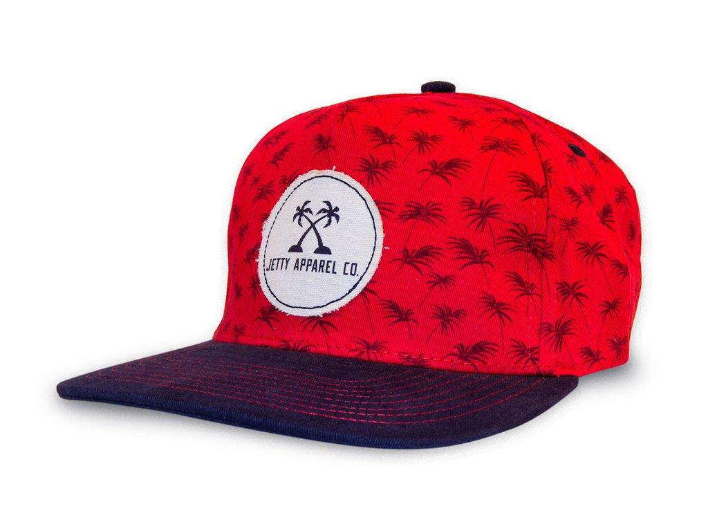 Level 2 :Jetty Red Wine Palm Tree Hat