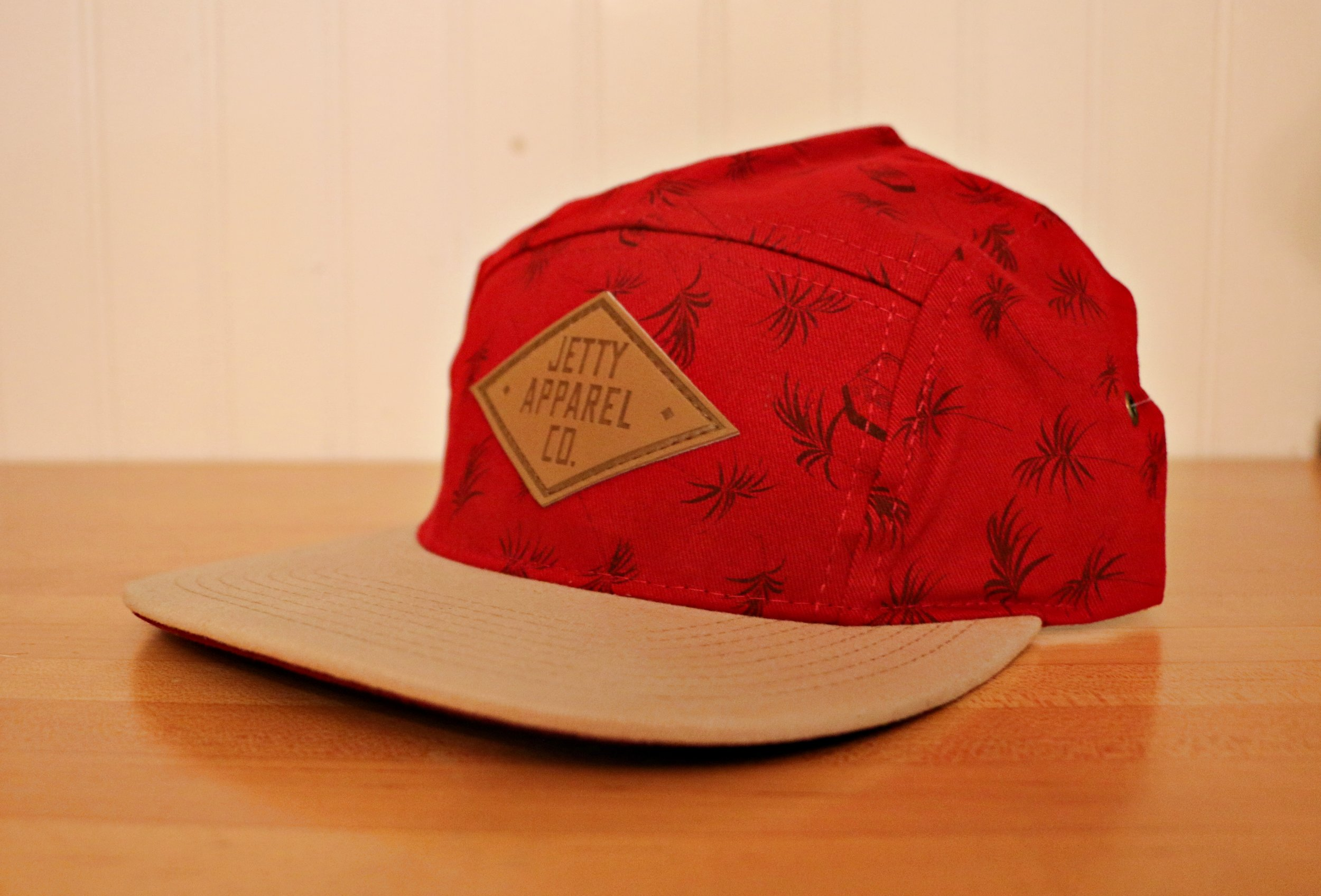 Level 3: Jetty Red Palm Tree Hat