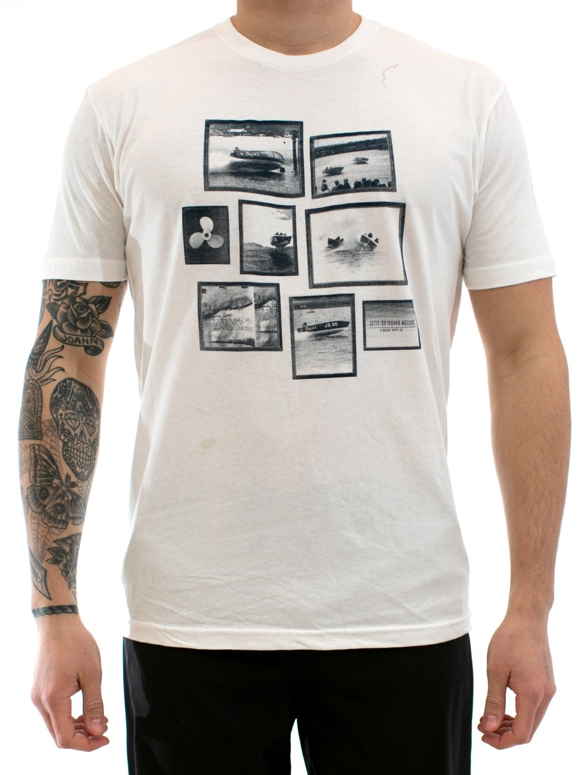 Level 3 : Jetty Blue/White LBI Boat Race Shirt