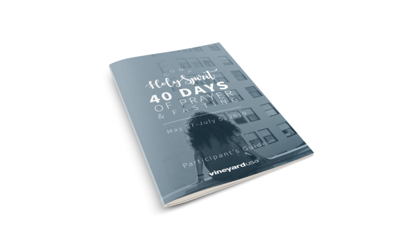 Participant Guide - Come Holy Spirit - 40 Days