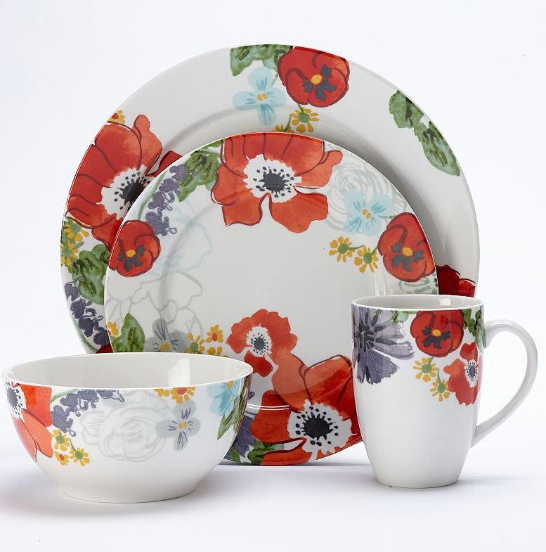 KOHL'S Summer Brights Dinnerware