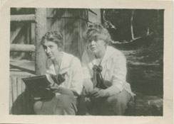 NW founders Nancy Wood and Germaine Sandner, Colorado Springs, CO, 1911