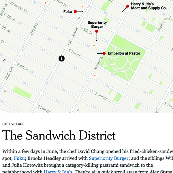 NY Times:  Latest Wave of New York's Food Districts