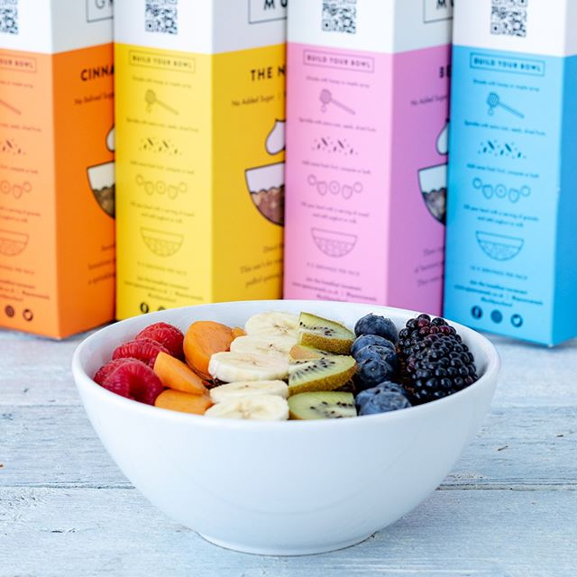 #PrideJubilee 🎉  We've created a delicious #buildyourbowl to prepare for #pride today!  Who's joining? 🙌 - - - - - - #makingbreakfastbetter #spoon #spooncereals #healthier #tastier #moreexciting #breakfast #buildyourbowl #healthybreakfast #granola #cereal #goodmorning #foodie #recipe #inspiration #new #exciting #motivation #lifestyle #london #food #tasty