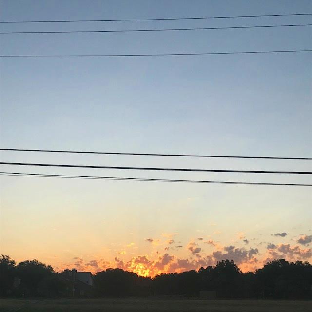 An image of a West Texas sunrise near my home.