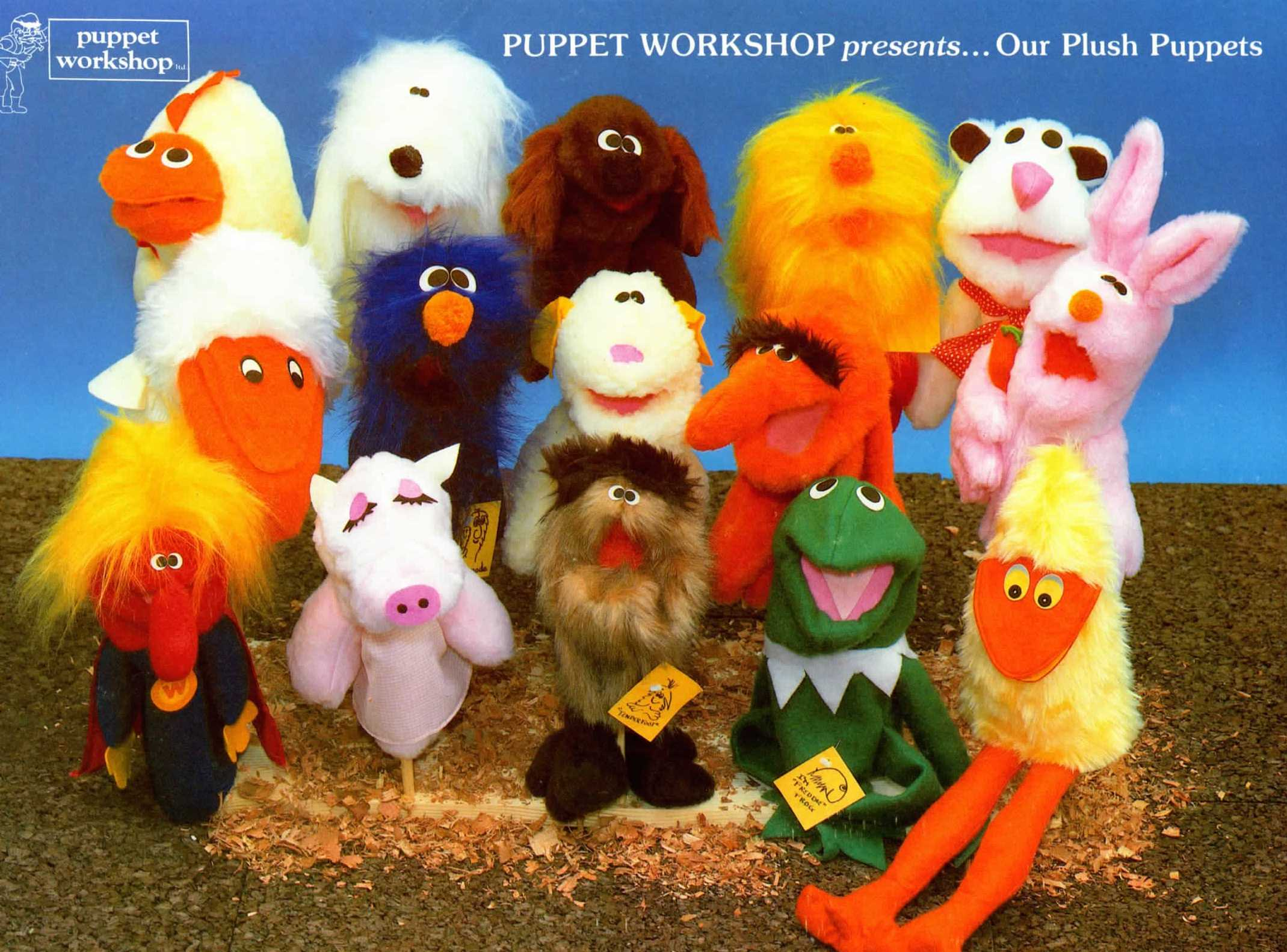 Our original hand puppets