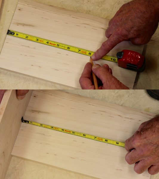 Figure 4 - The hook must move the correct amount to compensate for inside and over-the-edge measurements. The Starrett was perfect.
