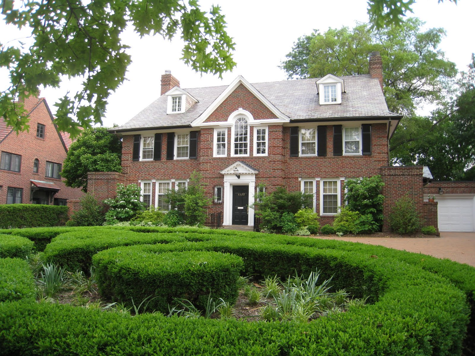 The Price Family residence in St Louis MO