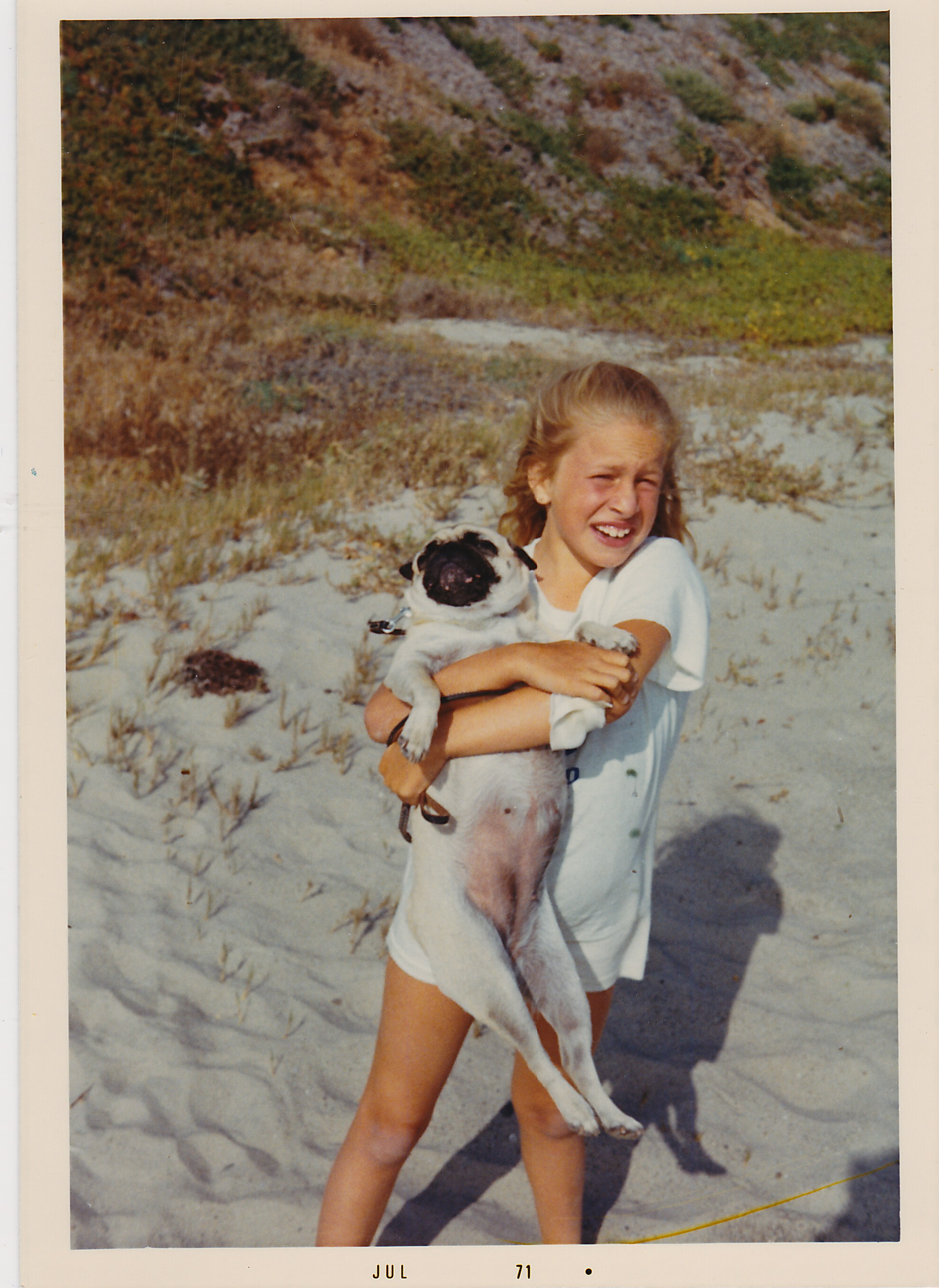 I took my own willful approach to dog wrangling as a child. . .
