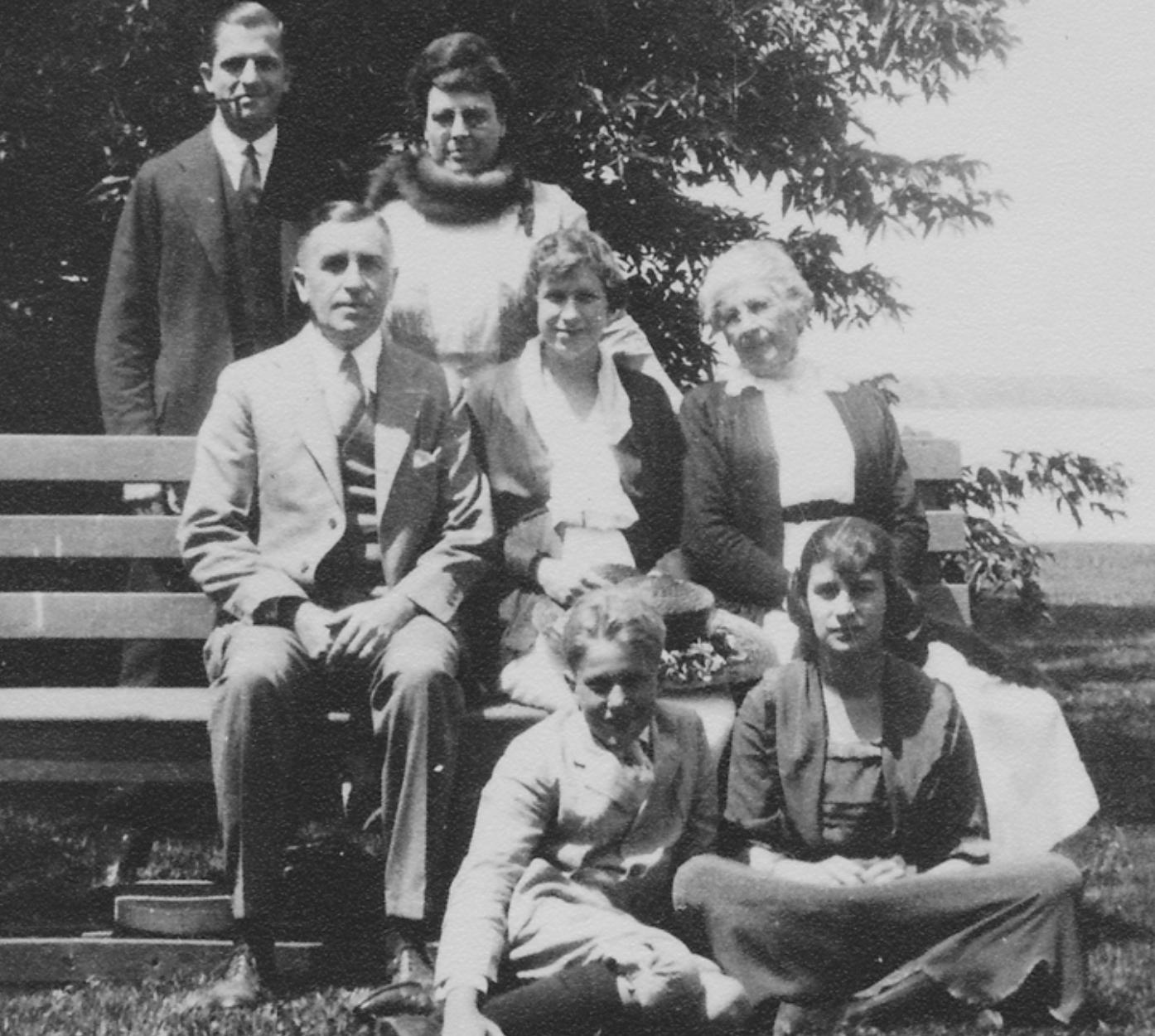 The Price Family 1920s