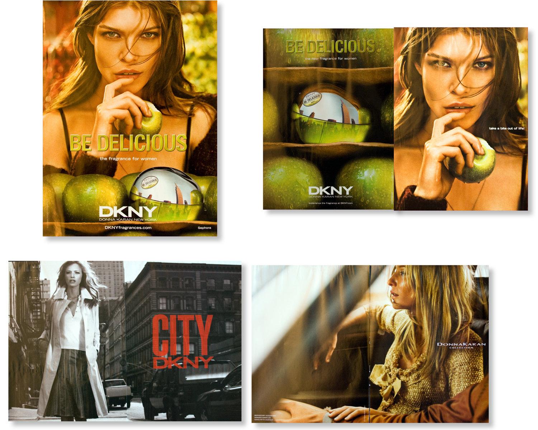 Various DKNY and Donna Karan campaigns