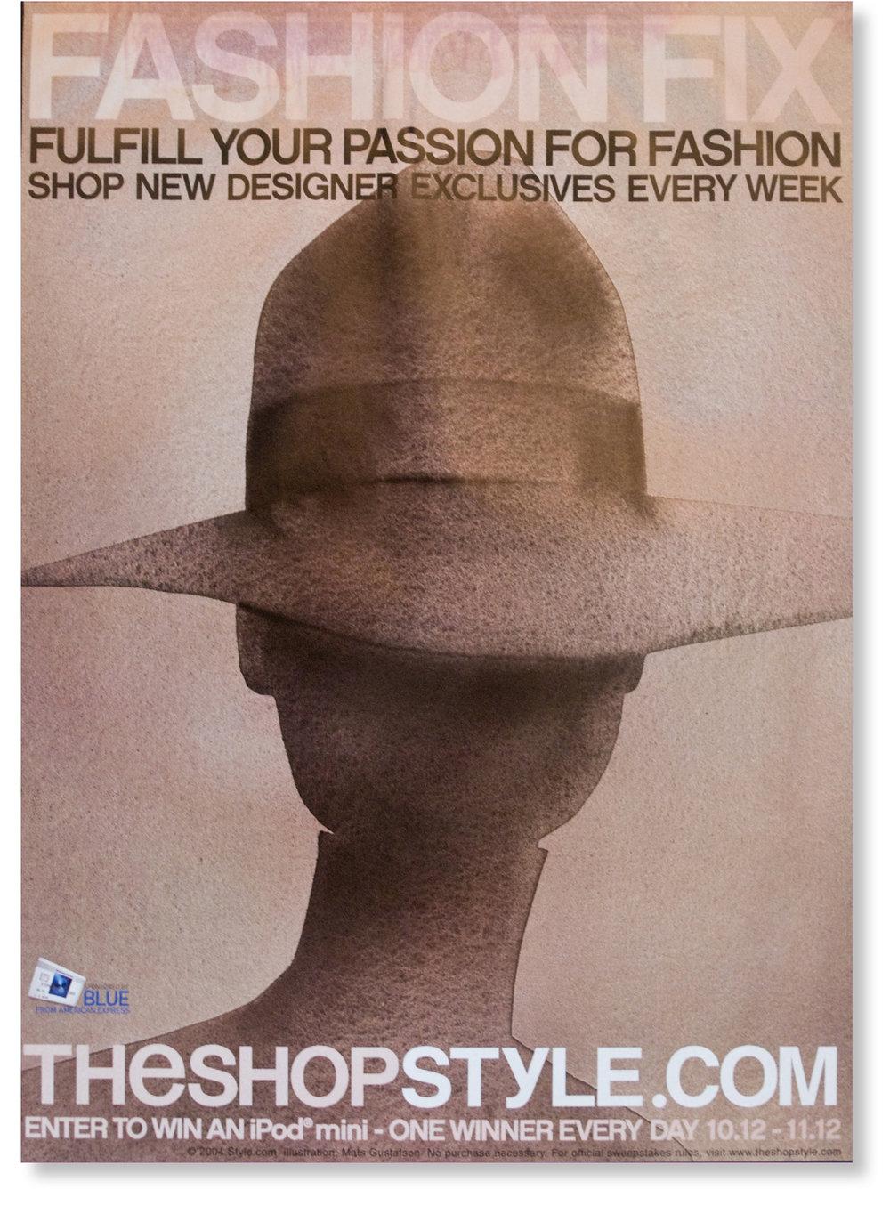 Style.com fashion week ad