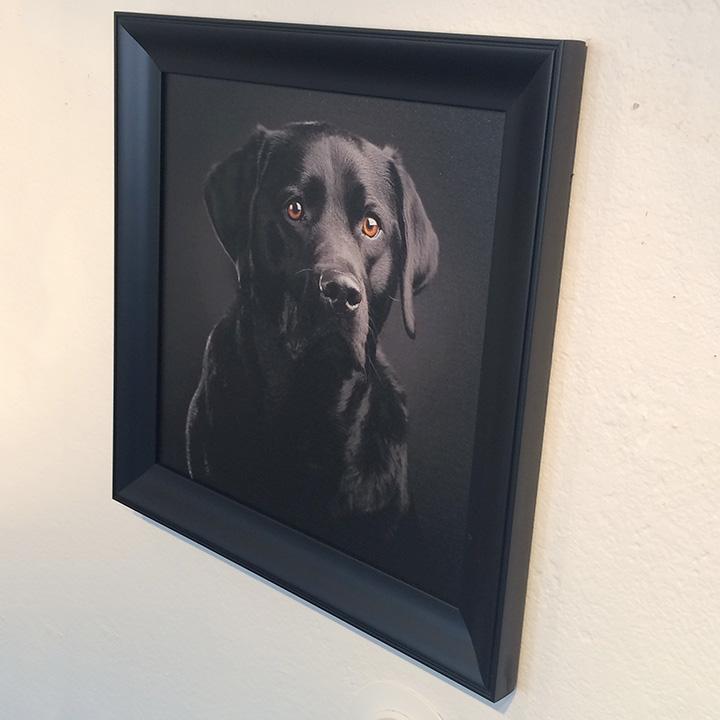 Custom canvas print with frame