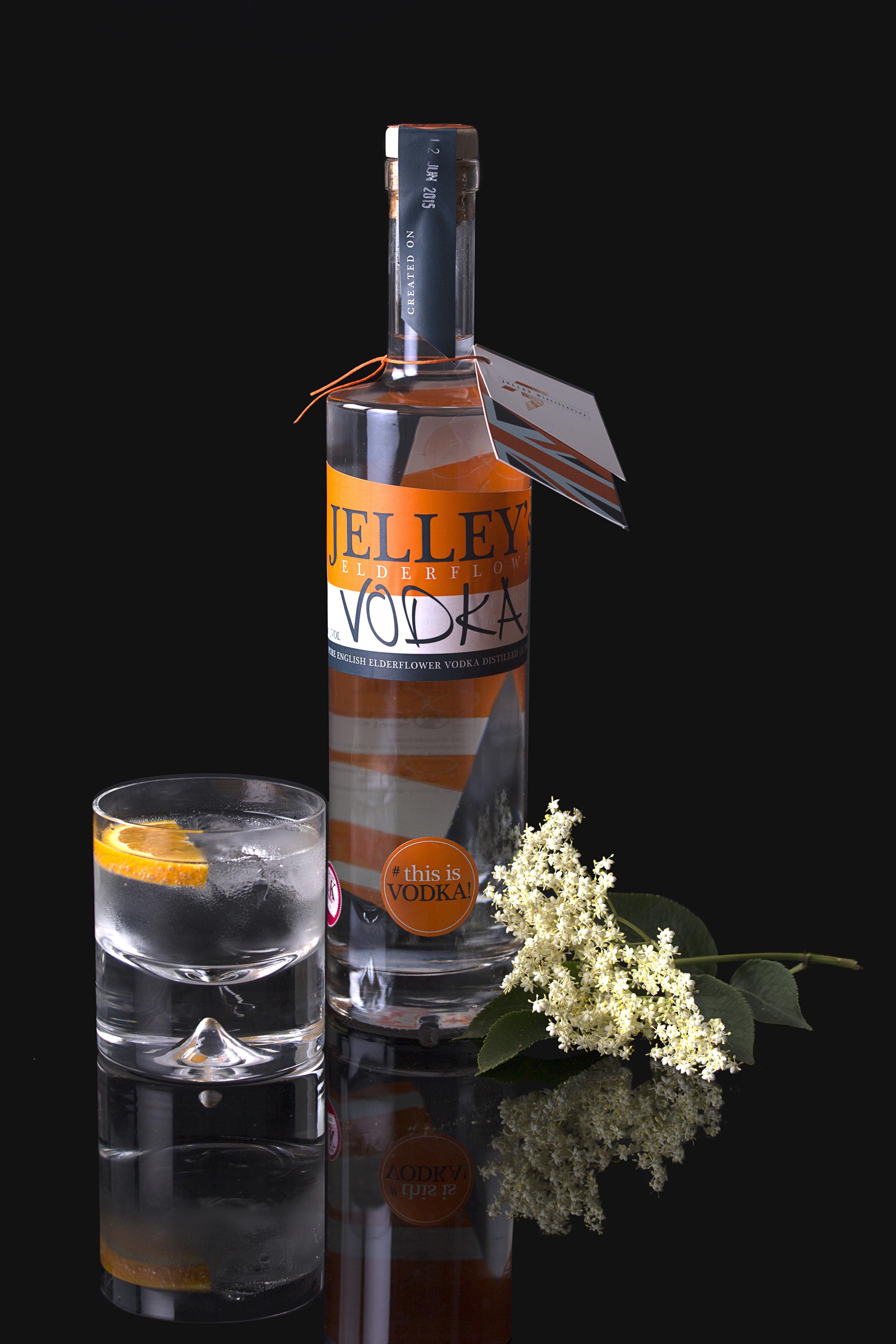 Jelley's Vodka bottle