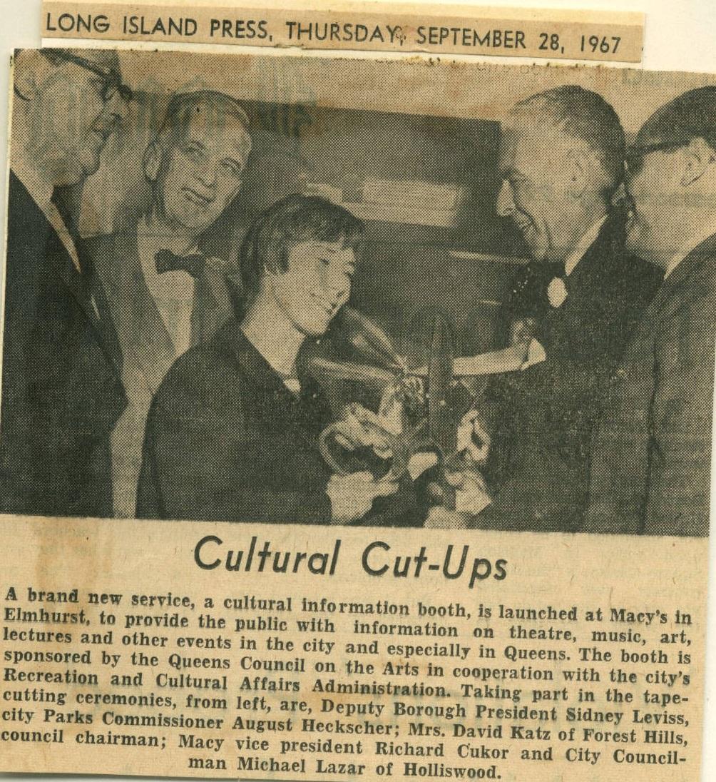 September 28th, 1967, QCA Founder Jeanne Dale Katz