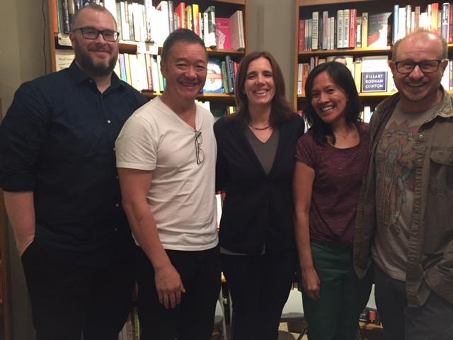 L-R: Tim Fredrick, Malcolm Chang, Catherine Kapphahn, Nita Noveno, and Rene Vasicek