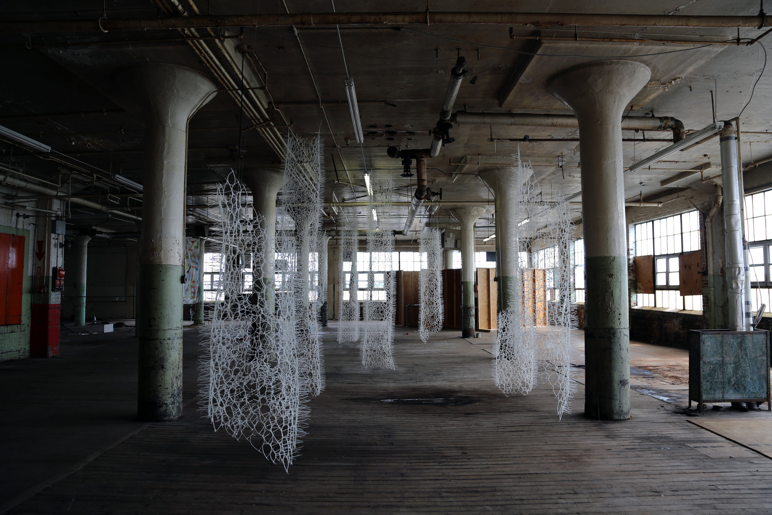 "Sui Park - ""BLUE PRINT"" 2014, site-specific installation"