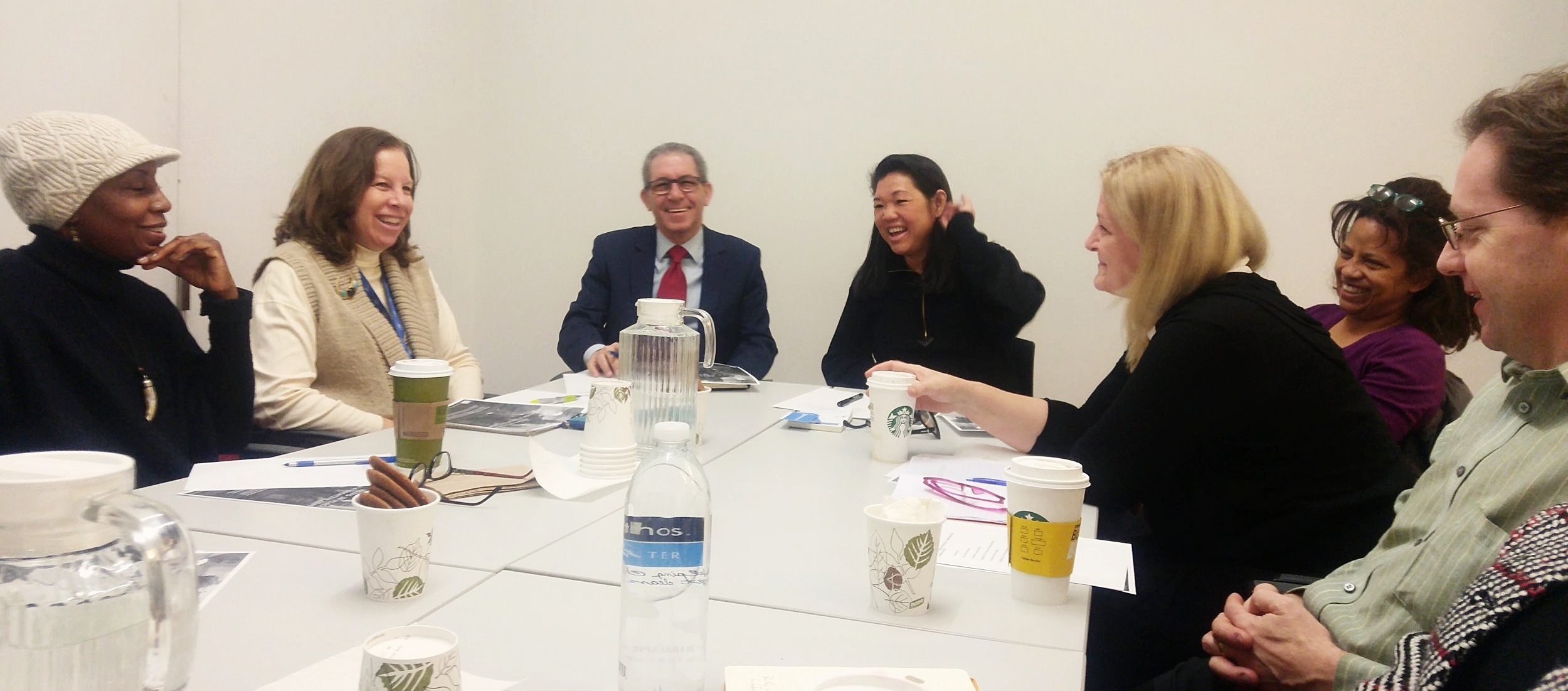 QCA Staff and partners discuss upcoming arts programming