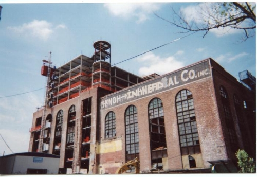 Abandoned Factory , credit to Gordon Haber