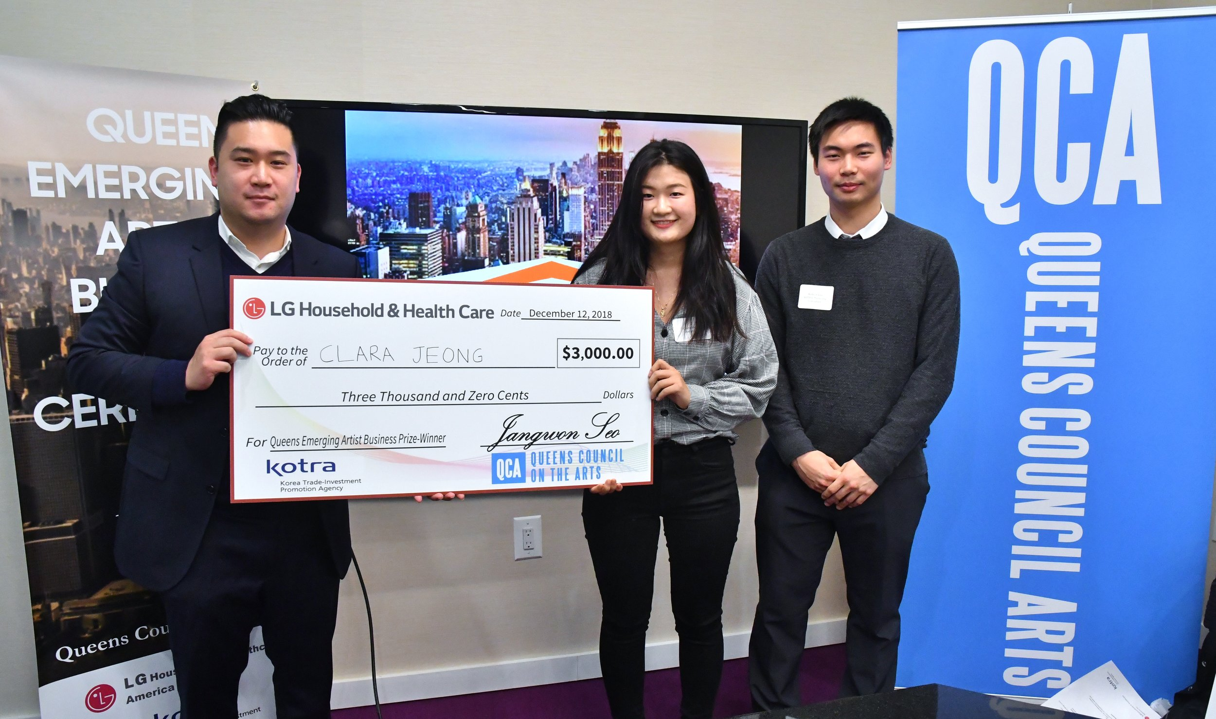 HS2AS Alumna Clara Jeong receives $3,000 for her 2018 design submission