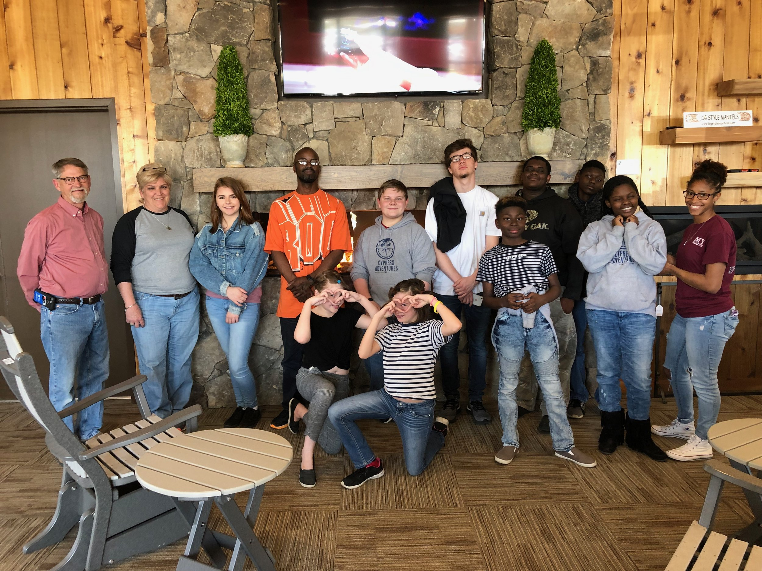 "Team #2 : sponsored by West Propane & Outdoor Living - Fall 2018 Graduates - Tues/Thurs Group - with celebrity guest WENDY HAYES""Black or White"" by Michael Jackson to promote love for all humans of all races!"