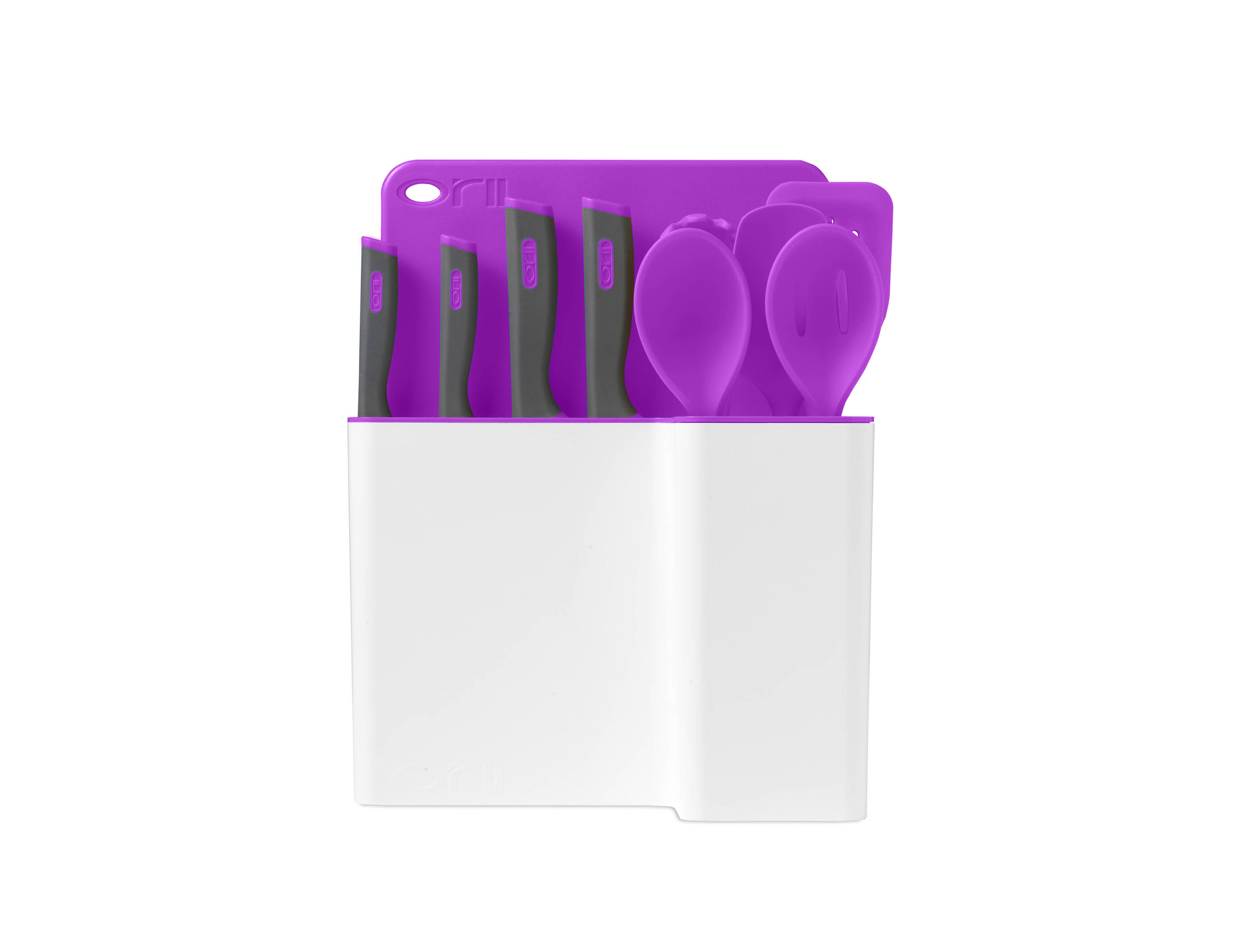 Orii 12PC MONO KITCHEN ORGANIZATION SET - PURPLE SHIRAZ