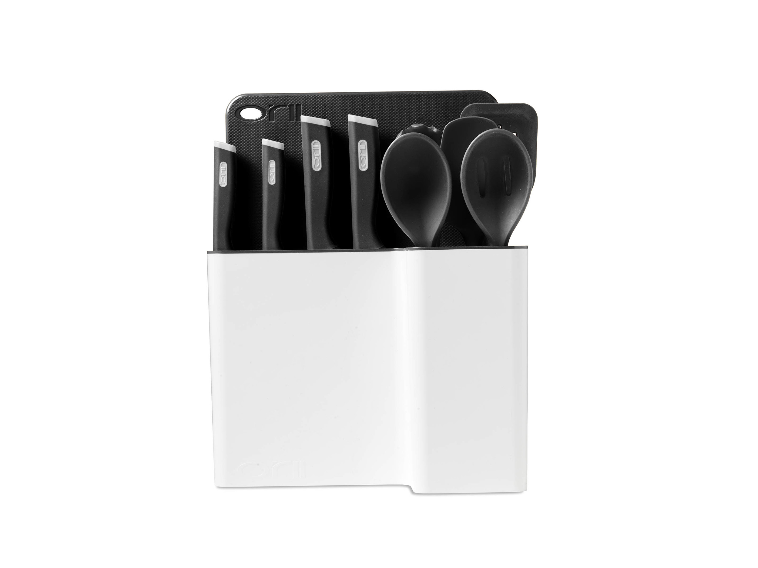 Orii 12PC MONO KITCHEN ORGANIZATION SET - CHARCOAL GREY
