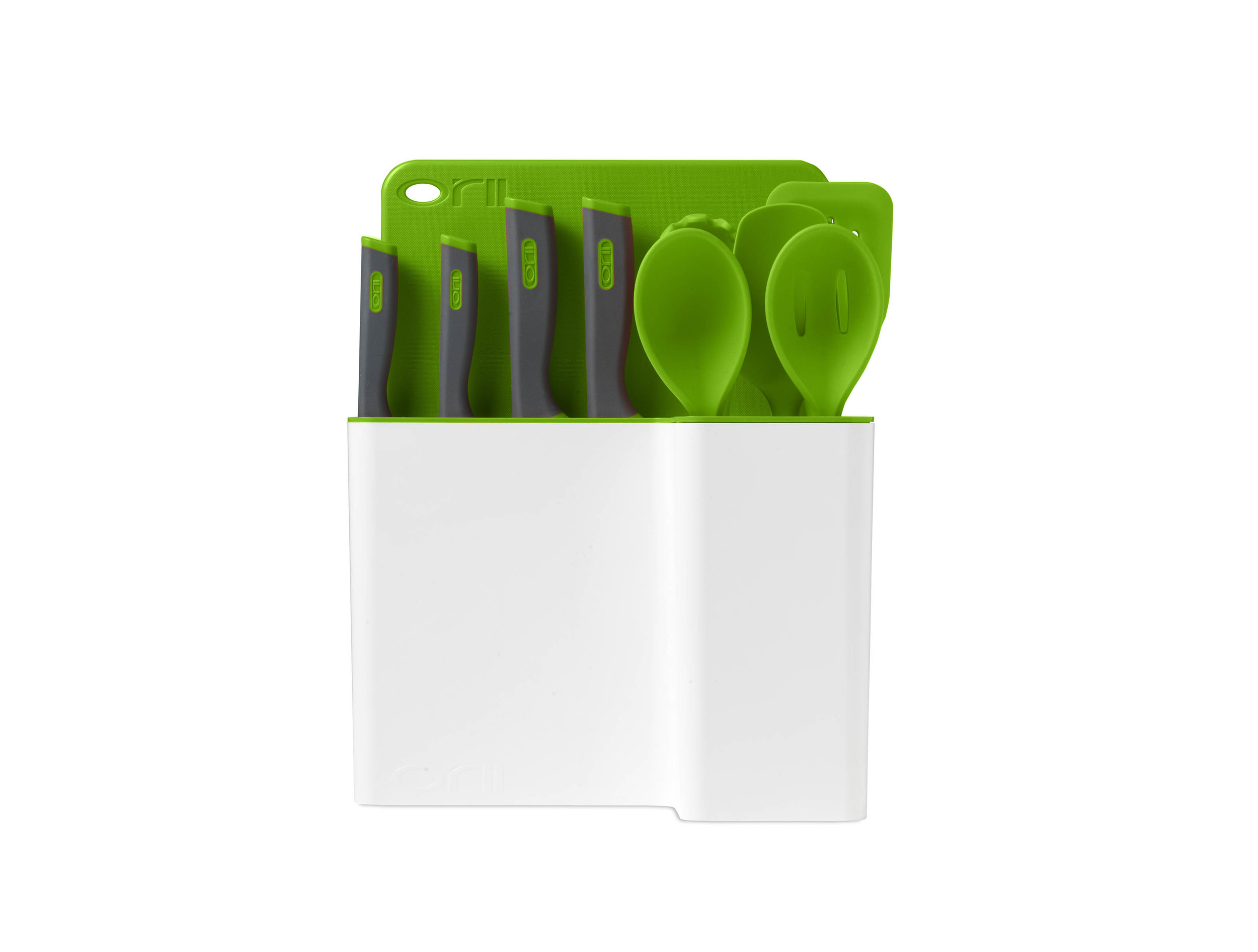 Orii 12PC MONO KITCHEN ORGANIZATION SET - VIBRANT GREEN