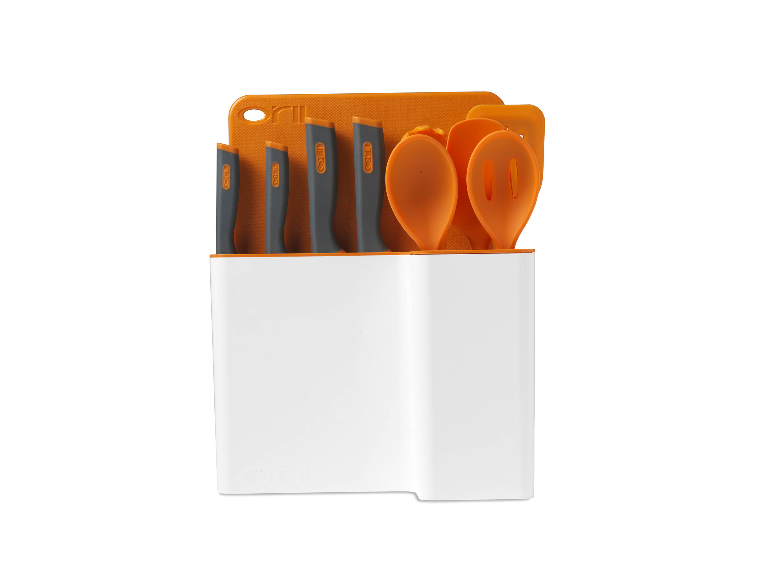 Orii 12PC MONO KITCHEN ORGANIZATION SET - LUMINOUS ORANGE