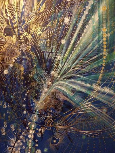 That indescribable feeling 80 x 111cm Acrylic on canvas 2014