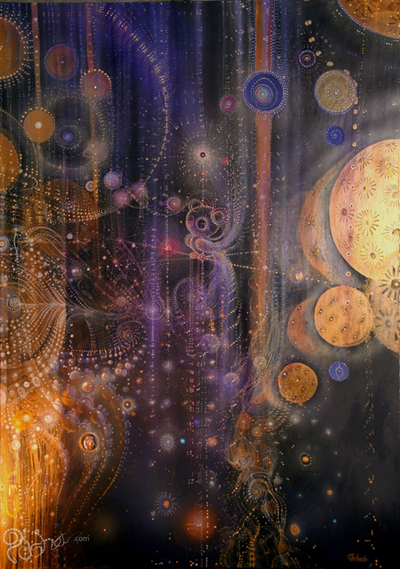Flying inside 95 x 138cm Acrylic on canvas 2012