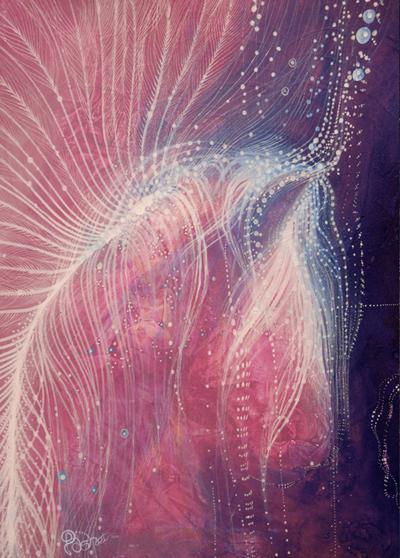 Unicorn Acrylic on canvas 2012