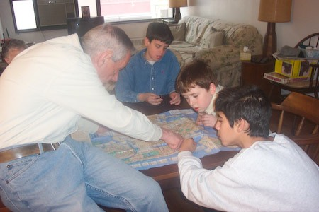Grampa, Henry, Jake