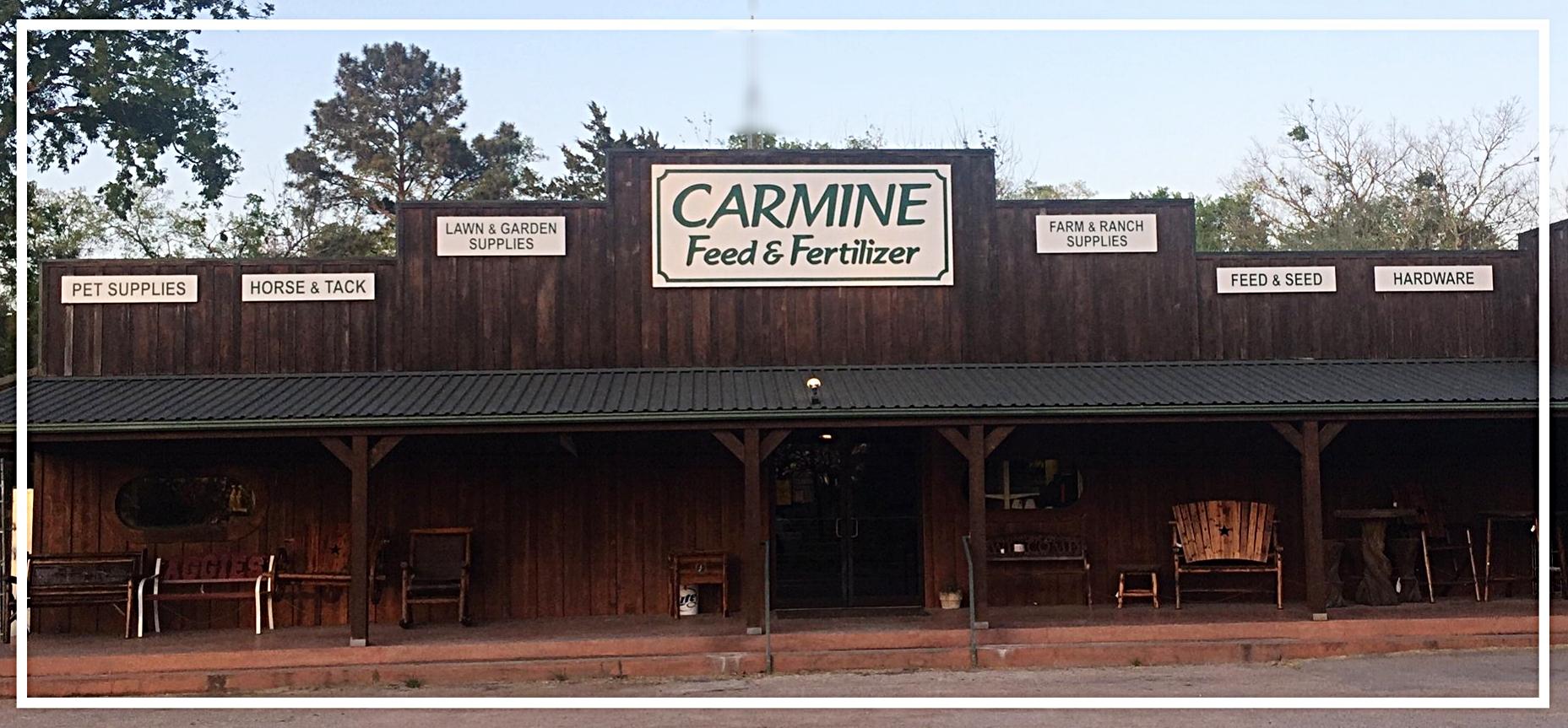 Carmine Feed & Fertilizer