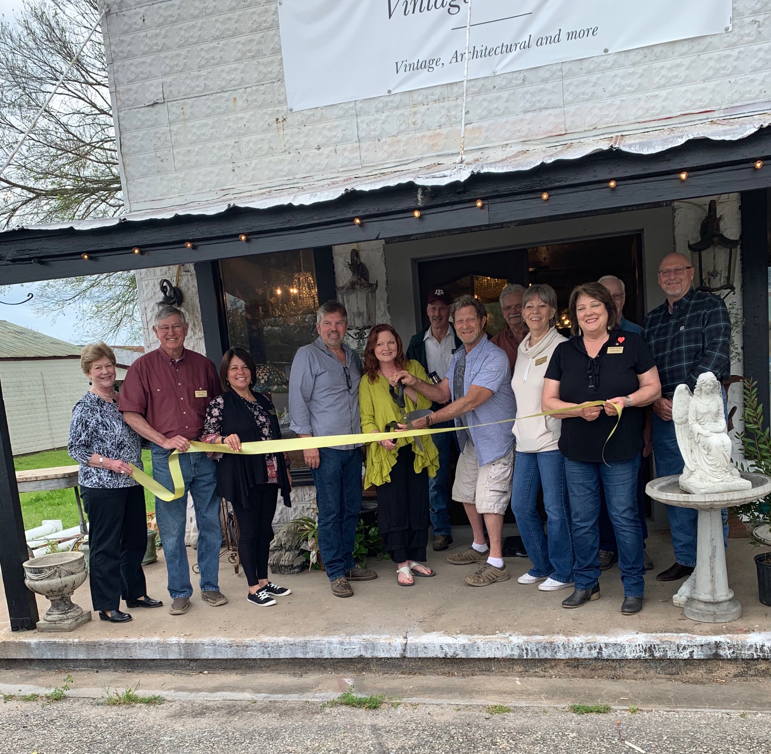 GRAND OPENING - Vintage Vanguard, Crooked Cane & James Busby Art
