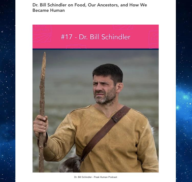 Dr Bill Schindler