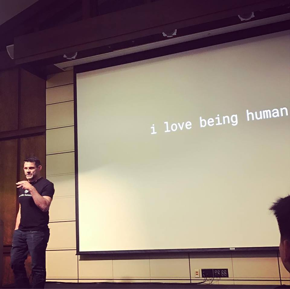 I love being human